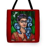 Fridas Triplets Tote Bag by Victoria De Almeida