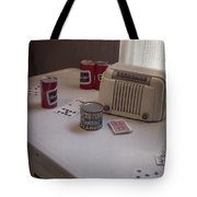 Friday Night Poker Game  Tote Bag by Edward Fielding