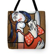 From Iraq With Love Tote Bag by Anthony Falbo