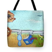 From Nothing To Something Tote Bag by Tracy L Teeter
