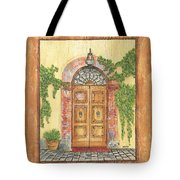 Front Door 2 Tote Bag by Debbie DeWitt