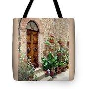 Front Door Tote Bag by Ellen Henneke