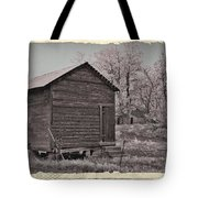 Frosty Morning Sepia 2 Tote Bag by Chalet Roome-Rigdon
