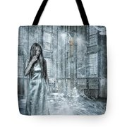 Frozen Hope Tote Bag by Erik Brede