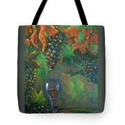 Fruit Of The Vine Tote Bag by Sandra Cutrer