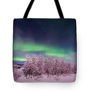 Full Moon Lights Tote Bag by Priska Wettstein