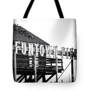 Funtown Pier Tote Bag by John Rizzuto