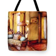 Furniture - Chair - The Queens Parlor Tote Bag by Mike Savad