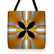 Futuristic Tote Bag by Svetlana Nikolova