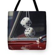 Fuzzy Dice 2 Tote Bag by Jill Reger