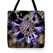 Fuzzy Purple 3 Tote Bag by Kelley King