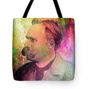 F.w. Nietzsche Tote Bag by Taylan Soyturk
