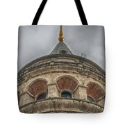 Galata Tower Istanbul Tote Bag by Antony McAulay