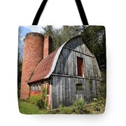 Gambrel-roofed Barn Tote Bag by Paul Mashburn