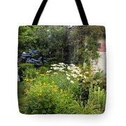 Garden Cottage Tote Bag by Bill  Wakeley
