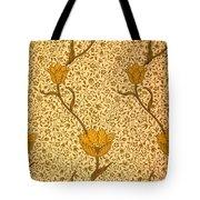 Garden Tulip Wallpaper Design Tote Bag by William Morris