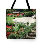 Gardenscape Tote Bag by Aimee L Maher Photography and Art Visit ALMGallerydotcom