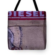 Gas Station Indian Chief Tote Bag by Garry Gay