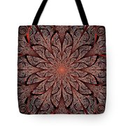 Gates Of Fire Tote Bag by Anastasiya Malakhova