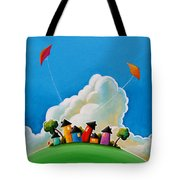 Gather Round Tote Bag by Cindy Thornton