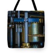 Gear Head Tote Bag by Dennis Reagan