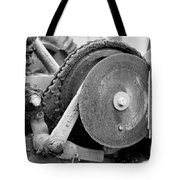 Gears Nuts And Bolts Tote Bag by Jackie Farnsworth