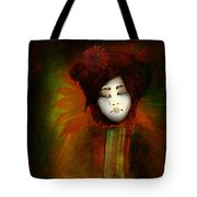 Geisha5 - Geisha Series Tote Bag by Jeff Burgess