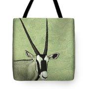 Gemsbok Tote Bag by James W Johnson