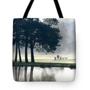 Genegantslet Golf Club Tote Bag by Christina Rollo