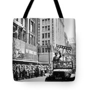 General Patton Ticker Tape Parade Tote Bag by War Is Hell Store