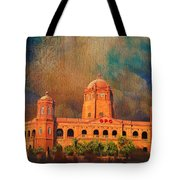 General Post Office Lahore Tote Bag by Catf