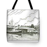 Genius Ready To Fish Gig Harbor Tote Bag by Jack Pumphrey