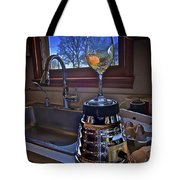 Gentlemen Start Your Blenders Tote Bag by Mark Miller