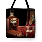 Gentlemen's Club Still Life Tote Bag by Tom Mc Nemar