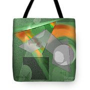 Geometrca 240 Tote Bag by Nedunseralathan R