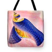 Geometric Shell Art Tote Bag by Deborah Benoit