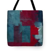 Geomix 03 - S330d05t2b2 Tote Bag by Variance Collections