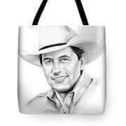 George Straight Tote Bag by Murphy Elliott
