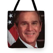 George W Bush Tote Bag by Official Gov Files