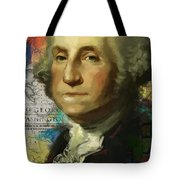 George Washington Tote Bag by Corporate Art Task Force