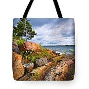 Georgian Bay Tote Bag by Elena Elisseeva