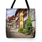 German Old Village Quedlinburg Tote Bag by Heiko Koehrer-Wagner