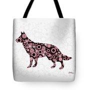 German Shepherd - Animal Art Tote Bag by Anastasiya Malakhova