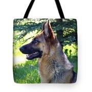 German Shepherd Dog Female Tote Bag by Karon Melillo DeVega