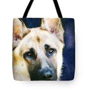 German Shepherd - Soul Tote Bag by Sharon Cummings