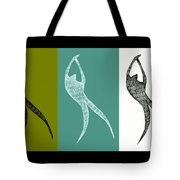 Get Moving Tote Bag by Michelle Calkins