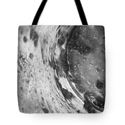 Getaway Jar b/w Tote Bag by Martin Howard