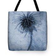 Geum Urbanum Cyanotype Tote Bag by John Edwards