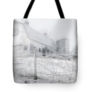 Ghost Barn Tote Bag by Bill Wakeley