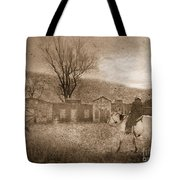 Ghost Town #2 Tote Bag by Betty LaRue